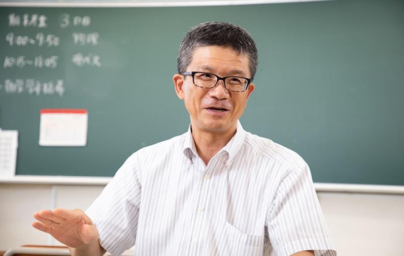 インタビューに答えていただいた川澄先生